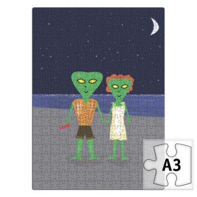 Пазл инопланетяне-романтики