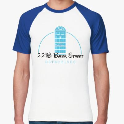 Футболка реглан 221 Baker Street
