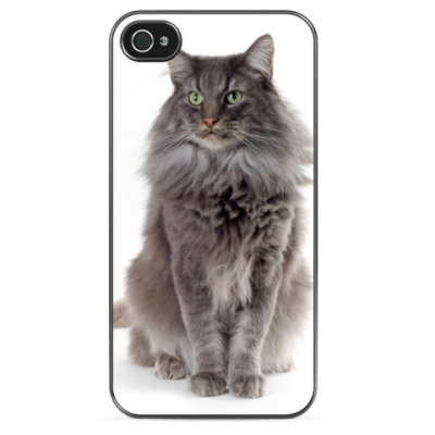 Чехол для iPhone Мега Кот