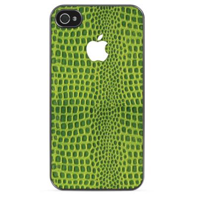 Чехол для iPhone Green Lizard