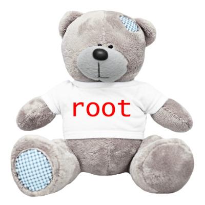Плюшевый мишка Тедди root (красный)