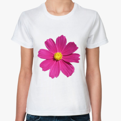 Классическая футболка Яркий цветочек