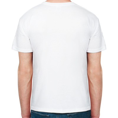 Мужская футболка Stedman, белая