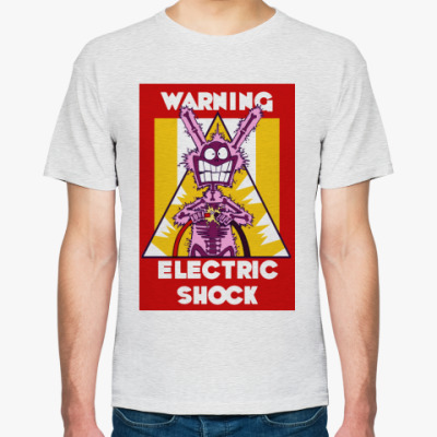 Футболка Warning Eletric Shock