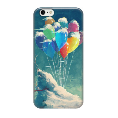 Чехол для iPhone 6 Snowbound balloons
