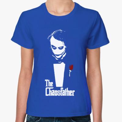 Женская футболка Отец хаоса