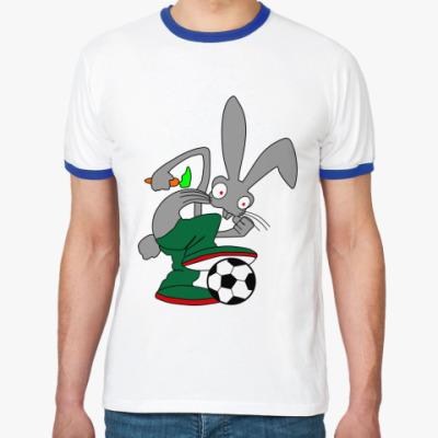 Футболка Ringer-T Rabbit
