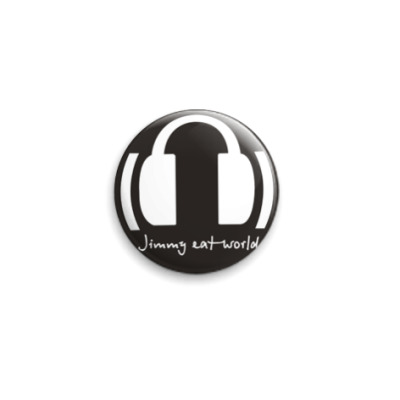Значок 25мм  25 мм-Jimmy Eat World