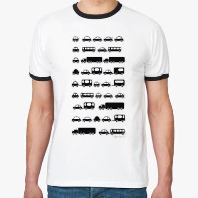 Футболка Ringer-T CAR