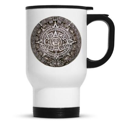 Кружка-термос Календарь ацтеков