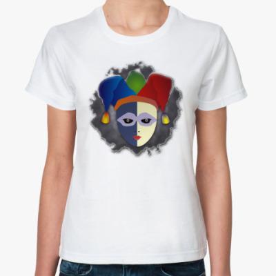 Классическая футболка Чёрный Паяц