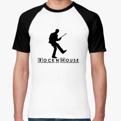 Футболка реглан Rock'n'house