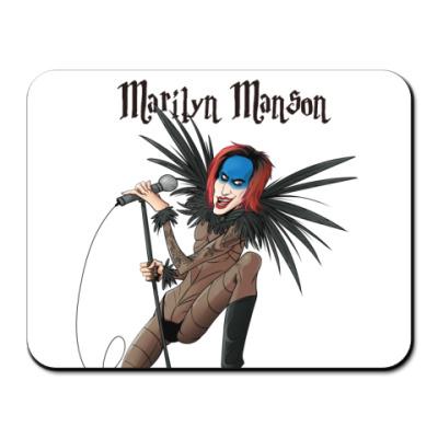 Коврик для мыши Marilyn Manson