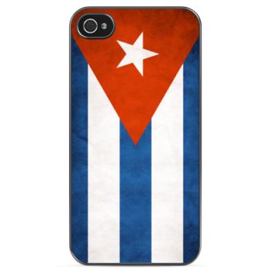 Чехол для iPhone Флаг Кубы