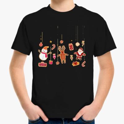 Детская футболка Новогодние печеньки