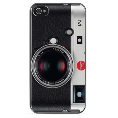 Чехол для iPhone Фотоаппарат Leica