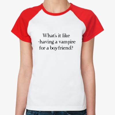 Женская футболка реглан  What's it like