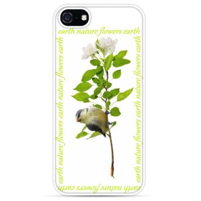 Чехол для iPhone earth flowers nature