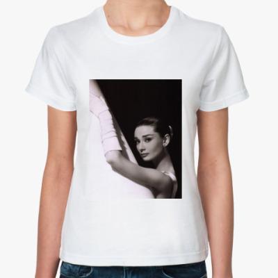 Классическая футболка Одри