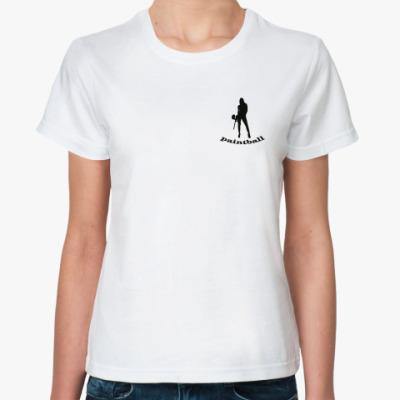 Классическая футболка Paintball