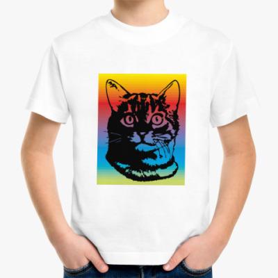 Детская футболка Котик Барсик