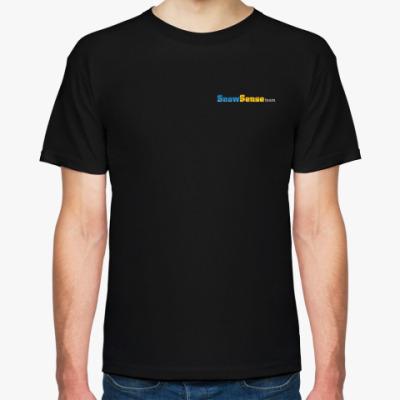 Футболка Мужская футболка с лого (с двух сторон)
