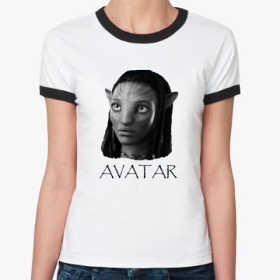 Женская футболка Ringer-T  Neytiri
