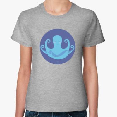 Женская футболка Animal Zen: O is for Octopus