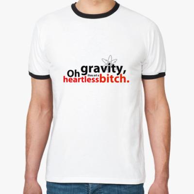 Футболка Ringer-T  OhGravity