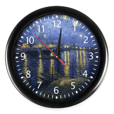 Часы Звездная ночь над Роной.