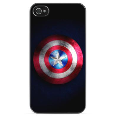Чехол для iPhone Капитан Америка