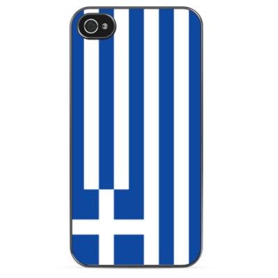 Чехол для iPhone Флаг Греции