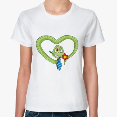 Классическая футболка Змей