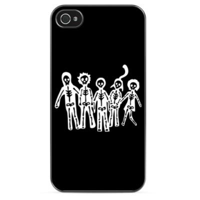 Чехол для iPhone Отбросы (Misfits)