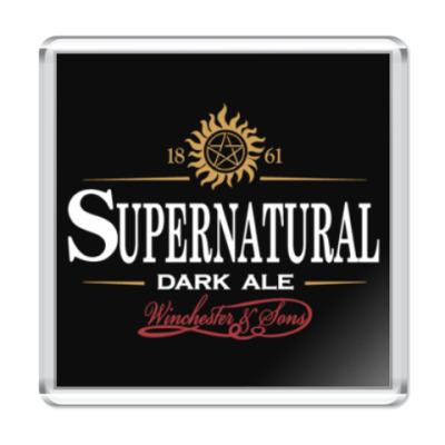Магнит Supernatural - Темный эль