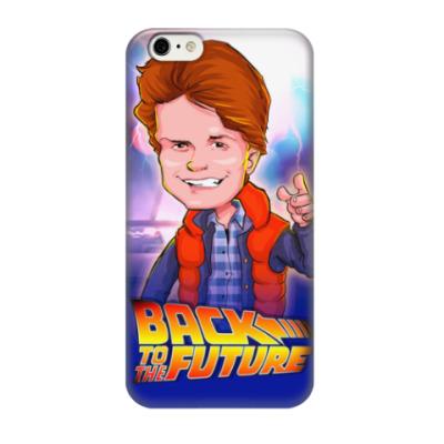 Чехол для iPhone 6/6s Назад в Будущее. Марти.