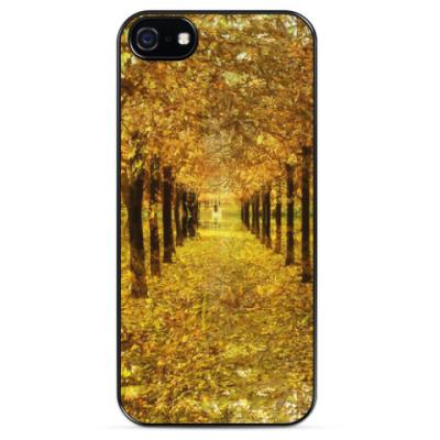 Чехол для iPhone Листья в холодной воде