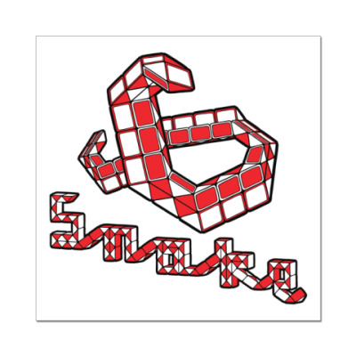 Наклейка (стикер)  Snake
