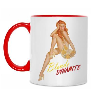 Кружка Blonde Dynamite