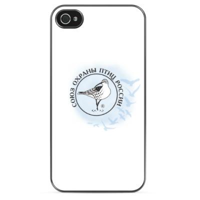 Чехол для iPhone Союз охраны птиц России (логотип)