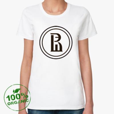 Женская футболка из органик-хлопка НИУ ВШЭ