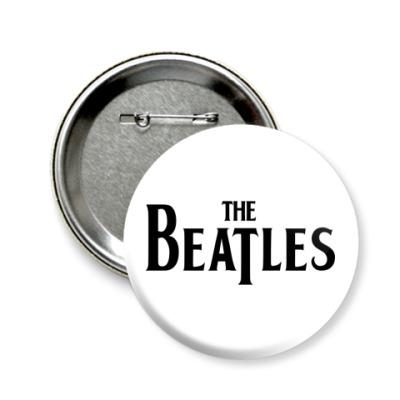 Значок 58мм  The Beatles (сред)