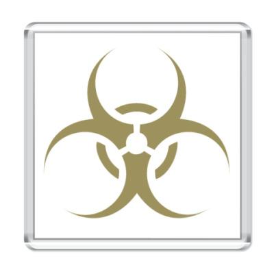 "Магнит  ""biohazard"""