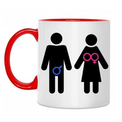 Кружка Мужчина и женщина