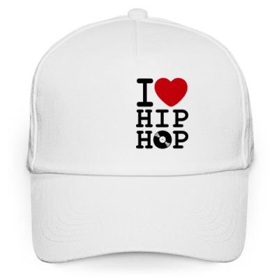 Кепка бейсболка Бейсболка I Love Hip Hop