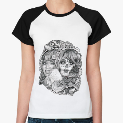 Женская футболка реглан Two Ways