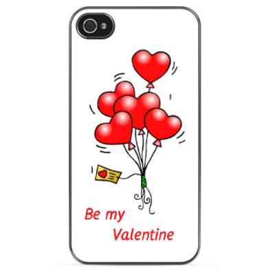Чехол для iPhone Be my Valentine