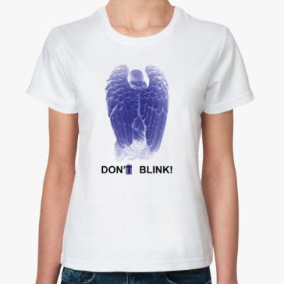 Классическая футболка W.Angel Don't blink одностор.