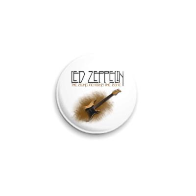 Значок 25мм  25 мм led zeppelin