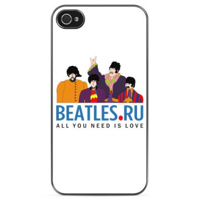 Чехол для iPhone Beatles.ru чехол для iPhone